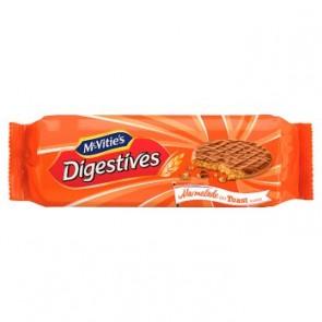 McVities Digestives Marmalade On Toast
