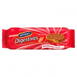 McVities Digestives Strawberries & Cream