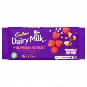 Cadbury Dairy Milk Raspberry Shortcake - Medium Bar