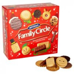 McVities Family Circle Carton - Large
