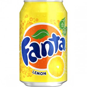 Fanta Lemon Can - UK Version