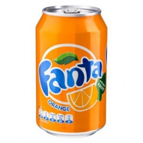 Fanta Orange Can - UK Version