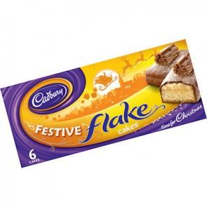 Cadbury Festive Flake Cakes