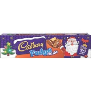 Cadbury Fudge Minis Tube