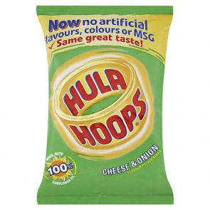 Hula Hoops Cheese & Onion Crisp