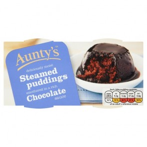 Auntys Chocolate Fudge Pudding Duo