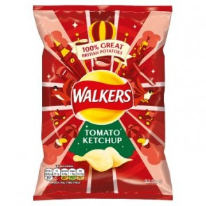 Walkers Tomato Ketchup Crisp