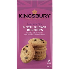 Kingsbury Butter Sultana Biscuits