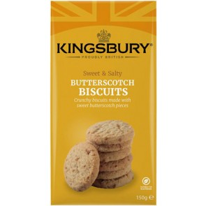Kingsbury Butterscotch Biscuits