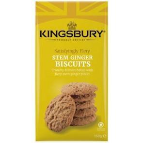 Kingsbury Stem Ginger Biscuits