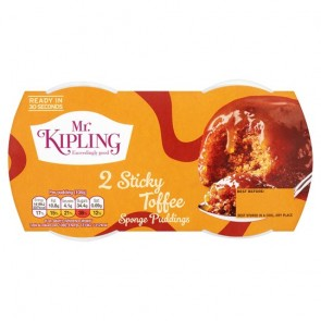 Mr Kipling Sticky Toffee Pudding Duo