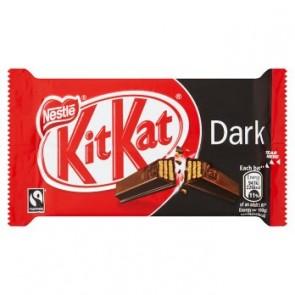 Nestle Kit Kat 4 Finger Dark