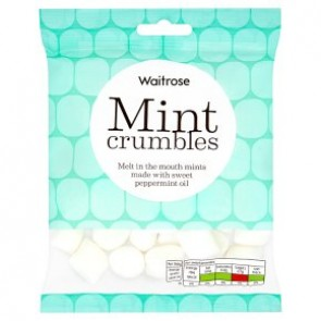 Waitrose Mint Crumbles Bag