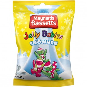 Maynards Jelly Baby Snowmen Bag