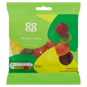 Co Op Midget Gems Bag