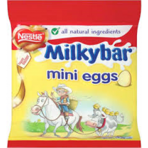 Nestle Milky Bar Mini Eggs Bag
