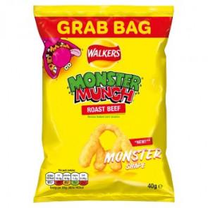 Monster Munch Roast Beef Crisp Grab Bag Size