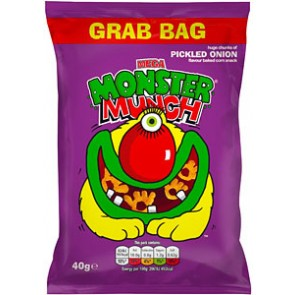 Monster Munch Pickled Onion Crisp Grab Bag Size