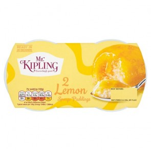 Mr Kipling Lemon Sponge Pudding Duo
