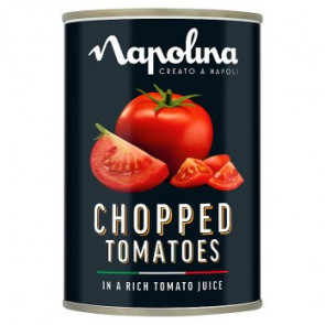 Napolina Chopped Tomatoes In Rich Juice