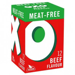 Oxo Meat Free Beef Stock Cubes