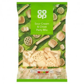 Co Op Sour Cream & Chive Party Mix
