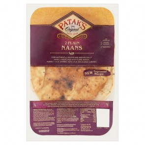 Pataks Naan Bread - Plain