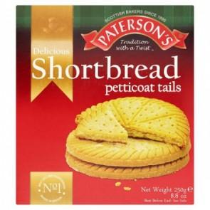 Paterson Shortbread Petticoat Tails