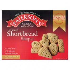 Paterson Shortbread Shapes Assortment