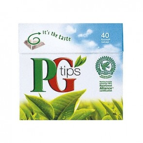 PG Tips Tea Bags - 40