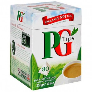 PG Tips Tea Bags - 80