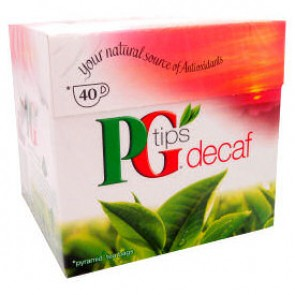 PG Tips Decaf Teabags - 40