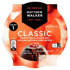 Matthew Walker Individual Christmas Pudding