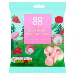 Co Op Raspberry Mushrooms