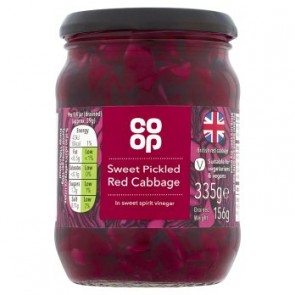 Co Op Pickled Red Cabbage