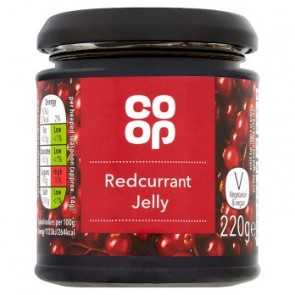 Co Op Redcurrant Jelly