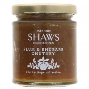 Shaws Plum Rhubarb Chutney