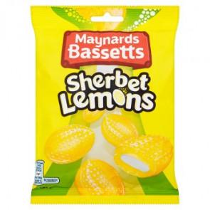 Maynards Bassetts Sherbet Lemons Bag