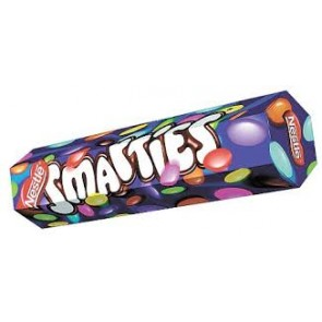 Nestle Smarties Tube - Standard