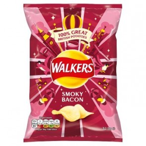 Walkers Smoky Bacon Crisp