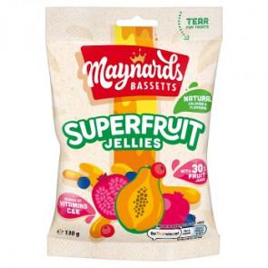 Maynards Bassetts Superfruit Jellies Bag