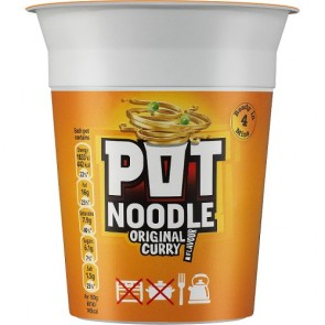 Pot Noodle Curry