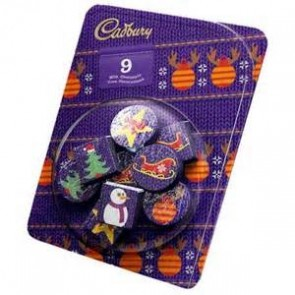 Cadbury Solid Tree Decorations