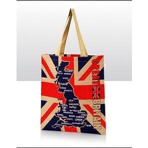Jute Bag - Great Britain
