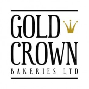 Gold Crown Fully Iced Christmas Cake - Extra Large