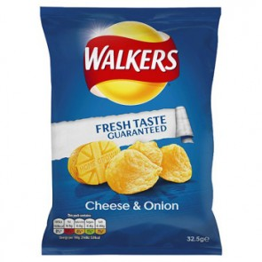 Walkers Cheese n Onion Crisps