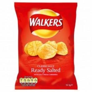Walkers Ready Salted Crisp