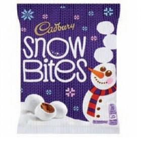 Cadbury Snow Bites
