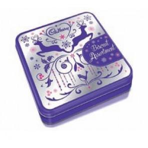 Cadbury Reindeer Biscuit Tin