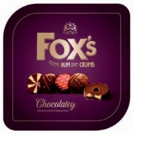 Foxs Chocolate Assortment Tin